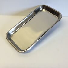 "New! ""Easy to Wipe Clean"" STAINLESS STEEL Cigarette Rolling Tray 9"" X 4 5/8"" RYO"