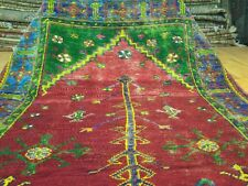 Exclusive Antique 1930-1940s Wool Pile Natural Dye Prayer Rug Konya Region