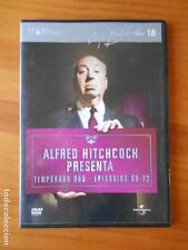 DVD ALFRED HITCHCOCK PRESENTA - TEMPORADA DOS - EPISODIOS 69-72 - CAJA SLIM (E3)