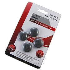 4x Fundas Botón Silicona Mando DualShock,Joystick PS4 Xbox ONE Color Negro n228