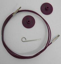KNITPRO Interchangeable Needle Cable ~ Choose Size