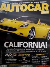 Autocar 6 2008 Nuova Ferrari. Test: Porsche GT2, Chrysler Voyager, VW Passat CC