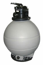 """Rx Clear 22"""" Patriot Above Ground Swimming Pool Sand Filter w/ Valve"""
