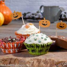 Happy halloween dulce o travesura Pack de 100 Magdalena Cajas & 10 selecciones espeluznante