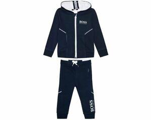 Hugo Boss Baby's J05J86 849 Hooded Tracksuit Navy