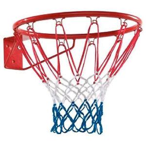 """Canestro Basket Regolamentare 46 Cm 18"""" Con Rete E Kit Montaggio Dunlop"""