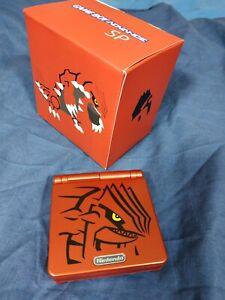 Custom Game Boy Advance SP - Groudon # GBA SP #