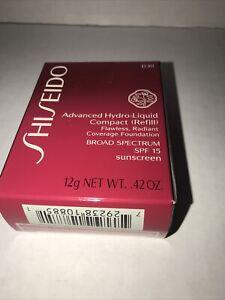 Shiseido Advanced Hydro-Liquid Compact SPF 15 Refill D30 Very Rich Brown New
