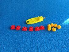 Playmobil  llave amarilla 12 x ensambladura roja amailla key connection piece
