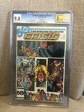 Crisis On Infinite Earths #11 CGC 9.8 White Pages
