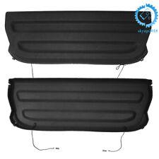 Non Retractable Cargo Cover Shield Shade Tonneau Black For Honda Fit 2015-2019