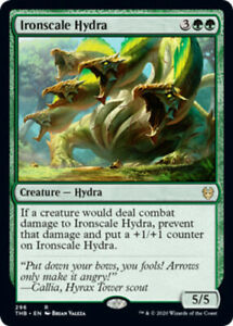 Ironscale Hydra - Theme Booster Exclusive x4 PL Magic the Gathering 4x Theros Be