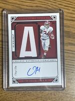 2019 DAMIEN HARRIS NATIONAL TREASURES💎1/1💎🔥ALABAMA🔥RC SICK PATCH🔥🔥🔥