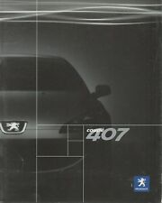 Peugeot 407 Coupe car for China market _2006 Prospekt / Brochure