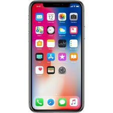 Apple iPhone X 256GB Silver Retina HD Display Smartphone Handy ohne Vertrag