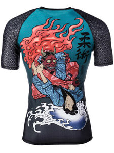 Tatami Fightwear Chris Burns Devil's Triangle BJJ Short Sleeve Rashguard