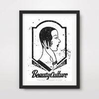 BEAUTY CULTURE ART PRINT Poster Vintage cm Advertisement A4 A3 A2 All Sizes +