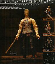 ACTION FIGURES - Final Fantasy XII Play Arts - No. 3 Balthier - NUOVO