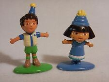 Diego & Dora the Explorer - Toy Birthday Cake Topper Viacom 2005