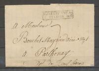 Lettre cachet d'essai SAINT ETIENNE 88/7 FEVRIER 1828, LOIRE X4167
