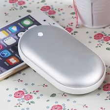 Cobblestone USB Charger Electric Hand Warmer Rechargeable Pocket Heater Portable