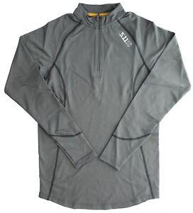 5.11 Tactical Men's Quarter Zip Shirt Sub-Z Layering System Long Sleeve Pullover