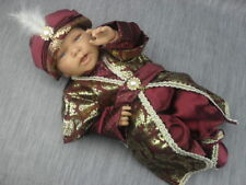 Baby Taufanzug Festanzug Mevlütlük Sünnetlik 5-tlg Rot Gold Sehzade Gr. 62 / 68