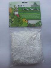 Heavy Duty Trellis Netting 5x15 ft Plant Support Garden Grow Mesh Net