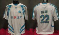 maillot  OM OLYMPIQUE MARSEILLE NASRI 2007-2008 FOOT shirt camiseta réédition