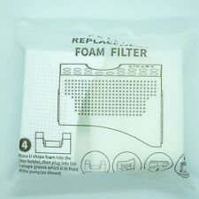 PETKIT Replacement Foam Filter x 4pc + 1 Holder for Eversweet Pet Water Fountain