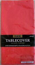 PLASTIC TABLECOVER  137cm X 274cm