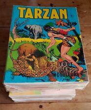 RARE EO 1963 À 1976 EDITIONS DEL DUCA COLLECTION COMPLÈTE TARZAN COULEURS 1 À 91