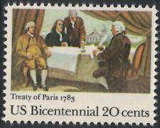Scott 2052- Signing of Treaty of Paris, 1783- 20c MNH 1983- unused mint stamp