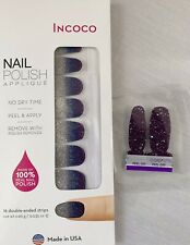SPACED OUT, New, Incoco, Nailpolish Strips,Color Street Twosie, FREE SHIPPING
