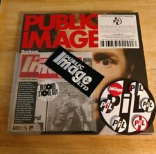 Public Image Limited Ltd. First Issue RSD Single Pins Patch LP Black Vinyl NEW