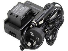 Battery +Charger for VW-VBN130 VBN130K VBN130EK VBN130GK VBN260 VBN260K VBN260EK