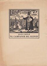 ✒ EX LIBRIS Joan CASULA El Campaner del Fluvia par Anger VILA