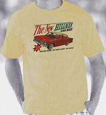 Hillman Super Minx 1961-1967 Retro Brochure Style T-Shirt