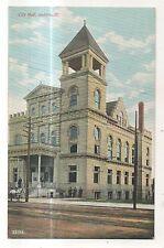 City Hall in AURORA IL Vintage Illinois Postcard