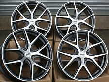 "8.5 + 9.5 20"" RS ALLOY WHEELS FIT FORD MUSTANG MITSIBUSHI GT0 04> 5X114 ONLY"