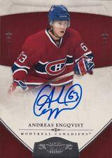 10-11 Dominion ROOKIE AUTO xx/199 Made! Andreas ENGQVIST #190 - Canadiens