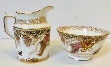 Olde Avesbury Sugar And Creamer Set, Royal Crown Derby