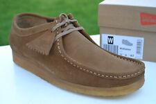 Clarks Originals BNIB Mens Shoes WALLABEE Cola Suede UK 12 / 47