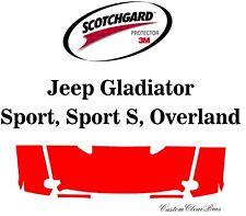 3M Scotchgard Paint Protection Film Clear 2020 2021 Jeep Gladiator Sport
