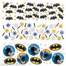DC Comic BATMAN Gotham Hero Child's Party Confetti Table Sprinkles Triple Pack