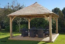 OAK Framed Gazebo ,Oak garden construction , Oak frame garage, QUOTATION
