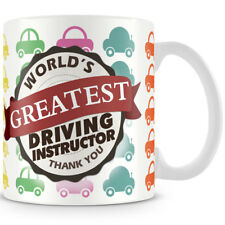 World's Greatest Driving Instructor Ceramic Coffee Mug – Makes an Ideal Gift