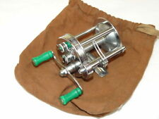 Pflueger USA Akron Model 1893 B bass multiplier reel in super condition with ...