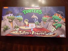 NECA TMNT Turtles In Disguise 4 Pack. New in Hand Ready to Ship! Rare
