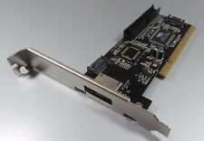 PCI 2port eSATA + 1 PUERTO IDE con RAID controlador #c296